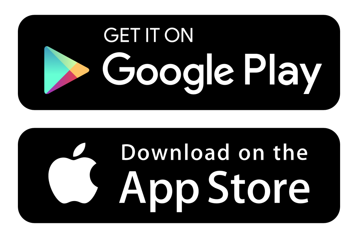 Apple store and Google Play